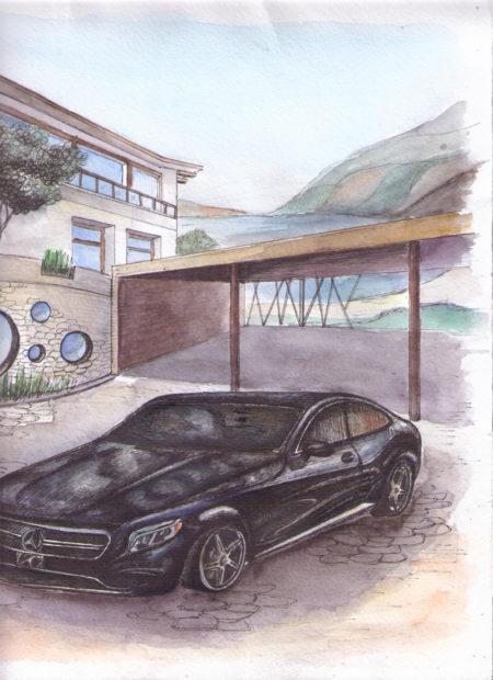 Рисунок Дом-1