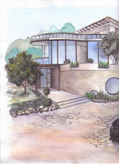 Рисунок Дом-2